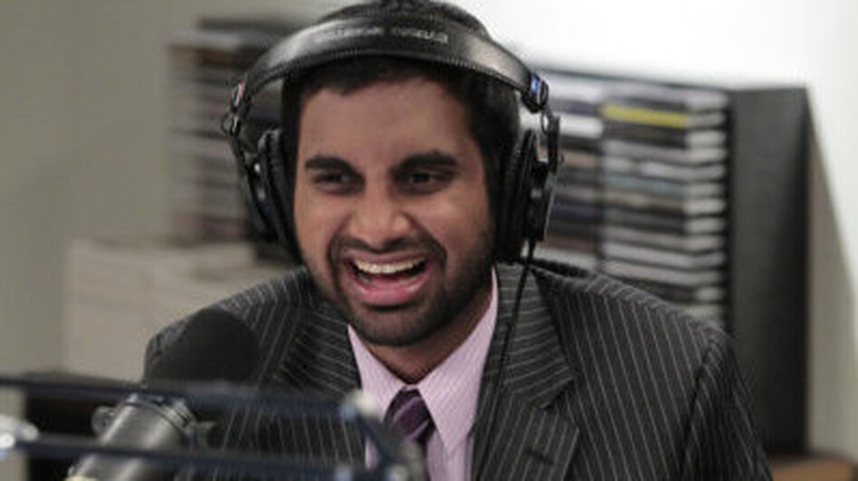 Aziz Ansari stars as Tom Haverford on NBC's <em>Parks And Recreation</em>.