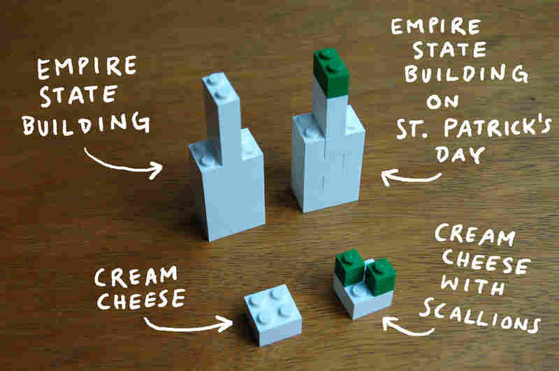 """Christoph Niemann creates visual essays for The New York Times from his home in Berlin. In his Feb. 2, 2009, essay """"I Lego N.Y.,"""" he turned Legos into the places and things he missed the most in New York City."""
