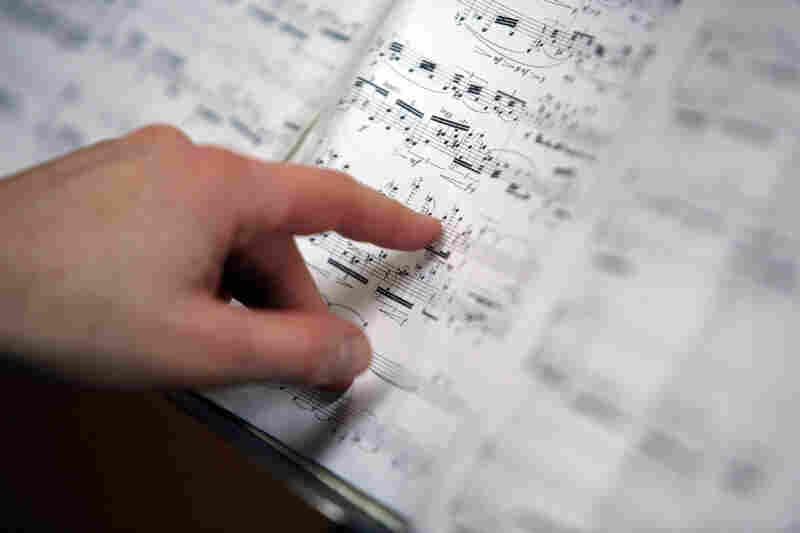 "The score for ""Esprit Rude/Esprit Doux II."""