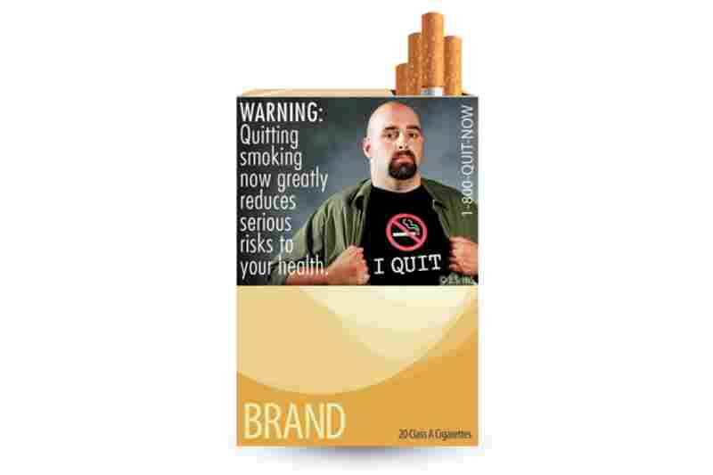 The new cigarette health warning labels released by the FDA. This marks the first change in cigarette labels in 25 years.