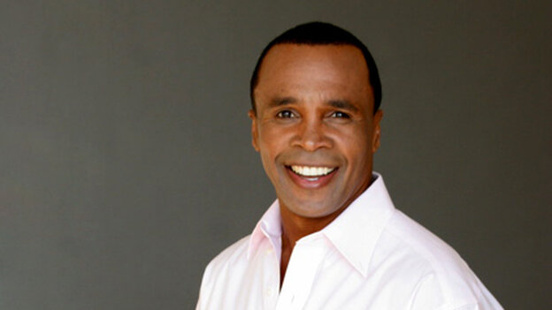Sugar Ray Leonard is a 1976 Olympic gold medalist.
