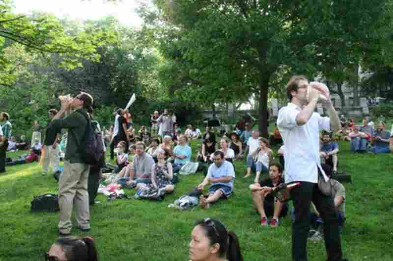 'Inuksuit' was written in 2009 to be performed outdoors; it has never before been played outside in New York.