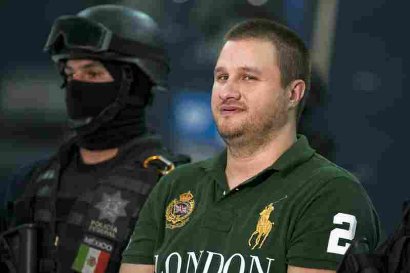 "Captured Aug. 30, 2010: American-born Edgar Valdez Villarreal, aka ""La Barbie,"" an alleged leader of the Beltran Leyva drug cartel, is seen a day after he was taken down during a raid in central Mexico. He faces charges of drug trafficking in both Mexico and the U.S. His extradition to the U.S. is under way."