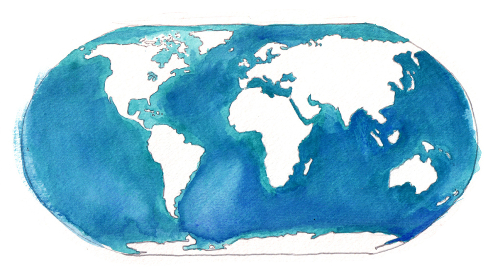 How Much Water Is There On Earth Magellan Would Be Shocked - How many oceans in the world