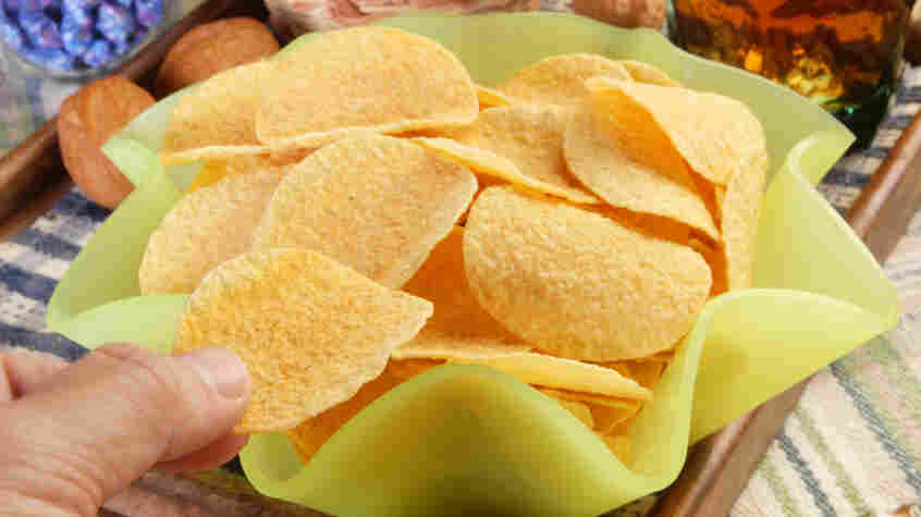 Skip the chips to help keep wei