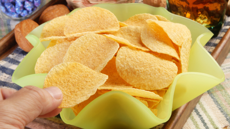 Skip the chips to help keep weight gain at bay.