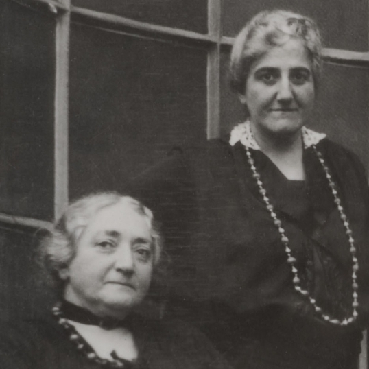 Though Claribel and Etta Cone initially bought art for decoration, their collection soon became much more serious. At the end of their lives they had acquired 3,000 pieces, all of which they donated to the Baltimore Museum of Art.