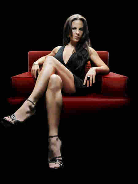 Actress Kate del Castillo in a publicity still for the Telemundo hit La Reina del Sur. The Spanish-language network is promoting the show for a prime-time Emmy nomination.