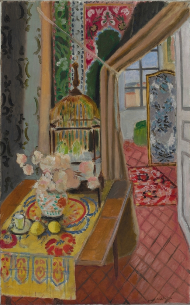 The sisters owned 500 works by Matisse, including his 1924 work, Interior, Flowers and Parakeets. Their Matisse collection is considered the largest and most significant in the world.