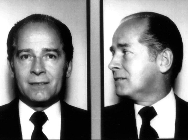 """In these 1984 file photos originally released by the FBI, New England organized crime figure James """"Whitey"""" Bulger is shown."""