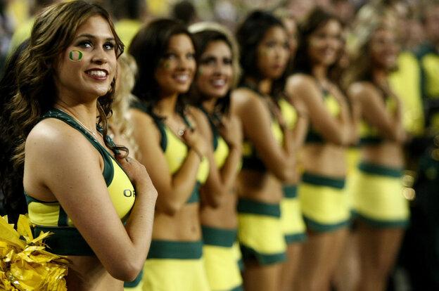 Imagine yourself as a cheerleader ...
