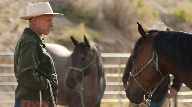 "Buck Brannaman deals with ""horses with people problems"" in the new documentary Buck."