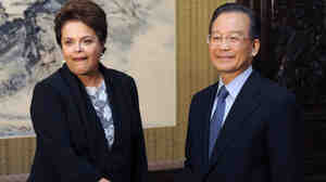 After taking office this year, Brazilian President Dilma Rousseff's first major foreign trip was to China, where she met Premier Wen Jiabao in Beijing in April. China has become Brazil's largest trade partner and largest investor.