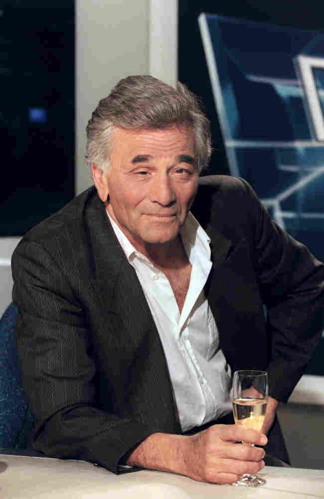 Columbo star Peter Falk, seen here in 1996, was nominated for two Oscars and won five Emmys.
