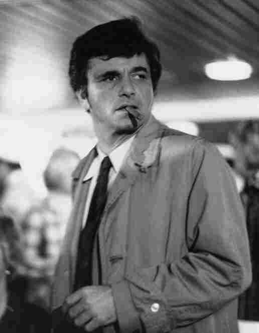 Falk as Lt. Columbo, the star of the show. Columbo ran for seven years in the 1970s and later inspired several TV movies between 1989 and 2003.