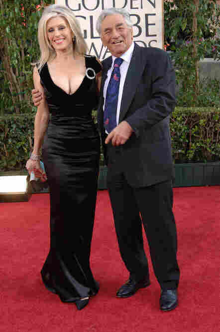 Falk had been married to actress Shera Danese since 1977. The couple poses for photographs at the Golden Globe Awards in Beverly Hills in 2006.