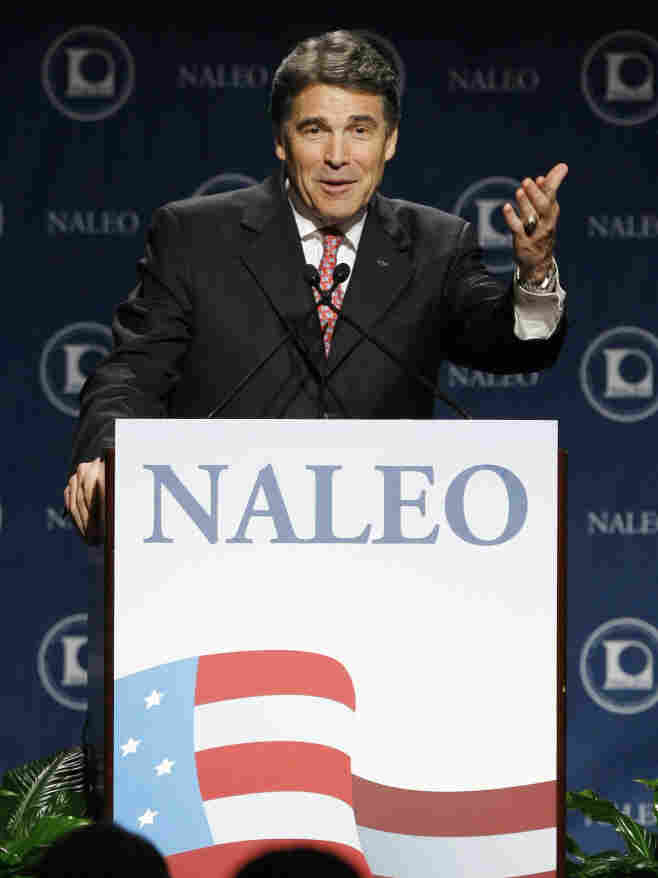 Texas Gov. Rick Perry at the National Association of Lati