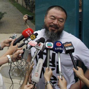 A Chinese Dissident Is Freed, But He's Still Not Free