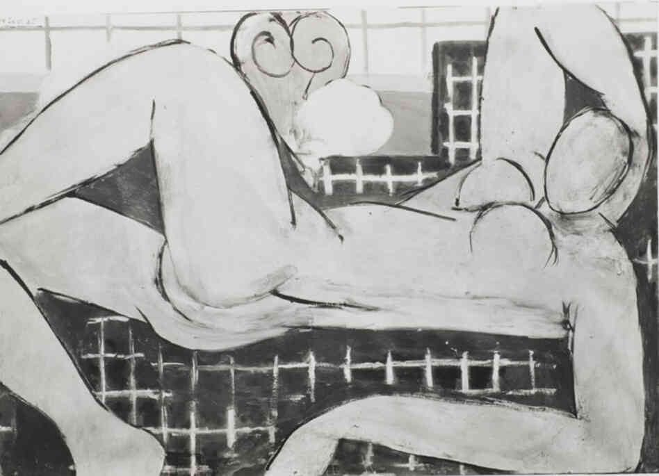 Large Reclining Nude, State I, May 3, 1935The Baltimore Museum of Art: Dr. Claribel Cone and Miss Etta Cone Papers, Archives and Manuscripts Collection, CP30.6.1. Copyright 2011 Succession H. Matisse/Artists Rights Society (ARS), New York.
