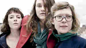 The women of Mountain Man. Left to right: Amelia Randall Meath, Molly Erin Sarle, Alexandra Sauser-Monnig.