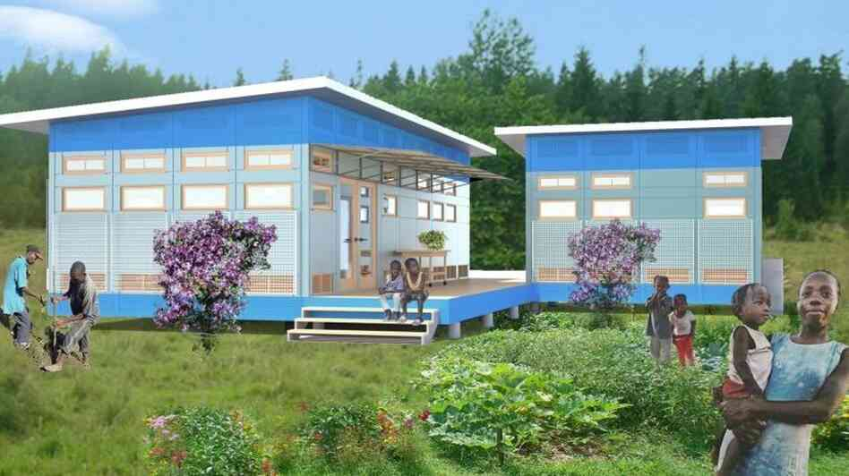 A nonprofit group hopes this winning home design will help prevent tuberculosis transmission with better ventilation.