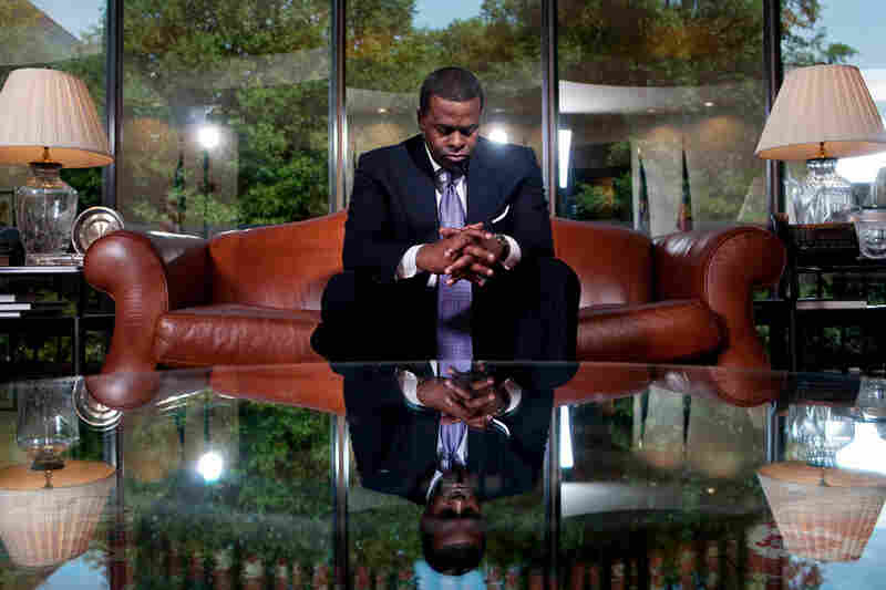 Atlanta Mayor Kasim Reed in his office inside of City Hall in downtown Atlanta