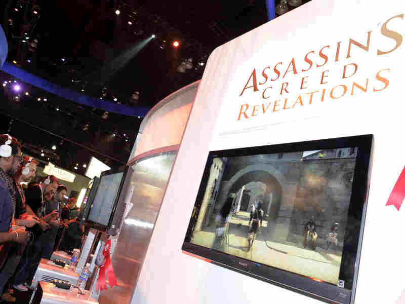 Gamers play Ubisoft's video game Assassin's Creed at the Electronic Entertainment Expo (E3) on June 9 in Los Angeles. The Supreme Court ruled Mo