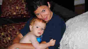 Christy with her son, James
