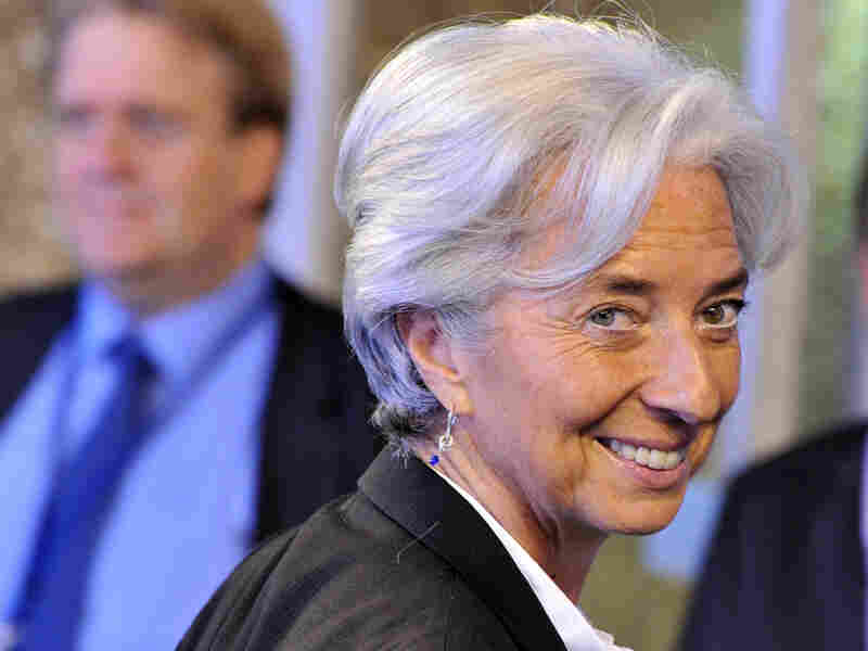 French Finance Minister Christine Lagarde was named the IMF's new managing director — the first woman to secure the top job.