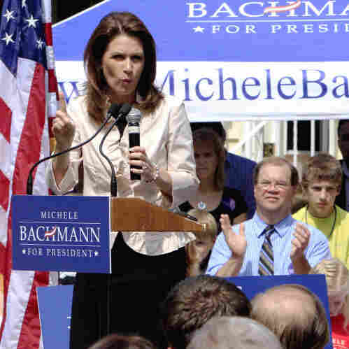 Solid Start Puts Bachmann In Front-Runner Territory