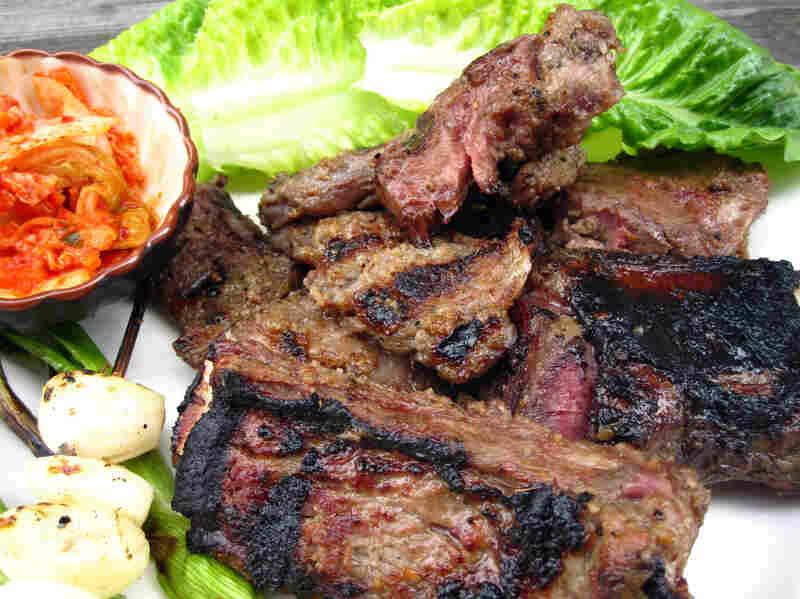Korean Kalbi (Butterflied Sesame-Grilled Beef Short Ribs)
