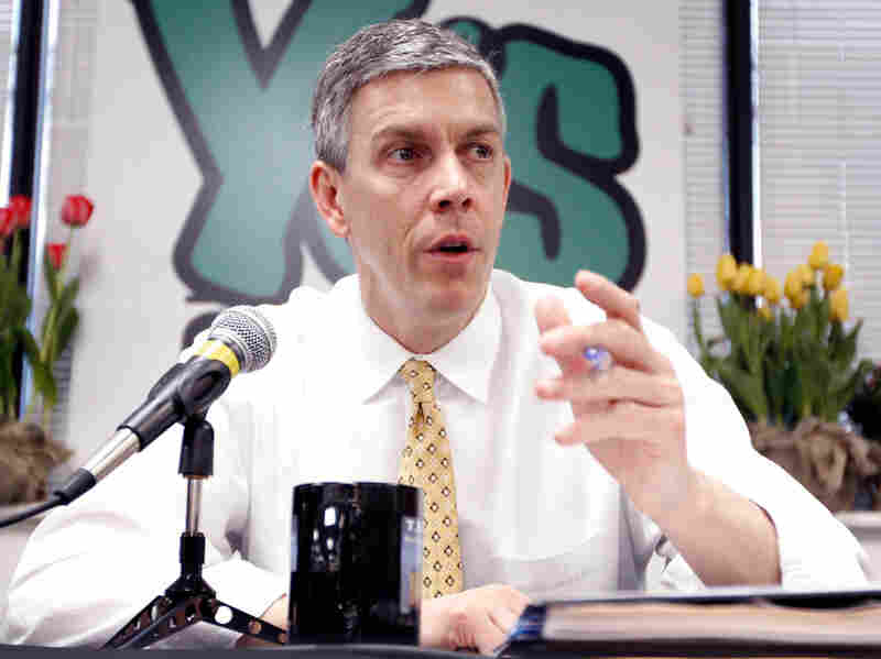 U.S. Secretary of Education Arne Duncan recently said he would grant waivers to states that could not meet the standards of No Child Left Behind.