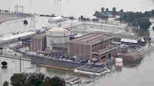 Officials: Flooding Won't Overcome Nuke Plants