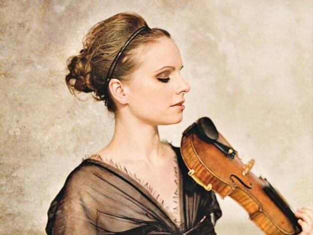 Violinist Julia Fischer.