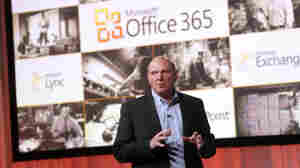 Microsoft CEO Steve Ballmer launches Microsoft Office 365, the new cloud based service June 28, 2011 in New York City.