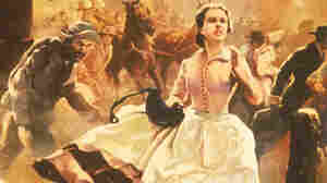 Margaret Mitchell's novel Gone with the Wind was published 75 years ago this month. A 1936 promotional poster for the book shows heroine Scarlett O'Hara running through the streets as Atlanta burns.