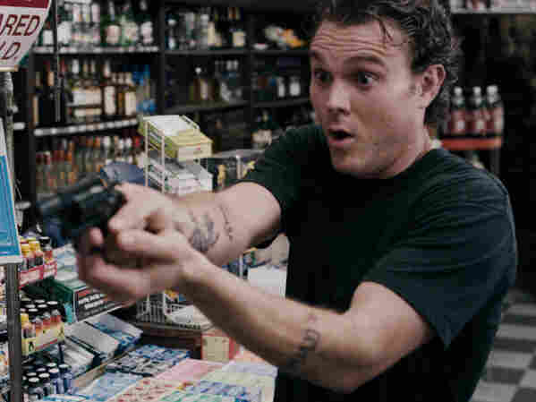 Seasoned criminal John Taylor (Clayne Crawford) holds up a bank and plots his escape meticulously, which makes it all the more improbable that he would allow himself to be rendered powerless by David Hyde Pierce.