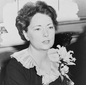 "Margaret Mitchell, pictured above in 1941, started writing while recovering from an ankle injury in 1926. She had read her way through most of Atlanta's Carnegie Library, so her husband brought home a typewriter and said: ""Write your own book to amuse yourself."" The result was Gone with the Wind."