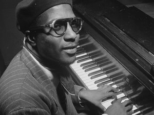 Thelonious Monk, photographed at Minton's Playhouse in 1947.