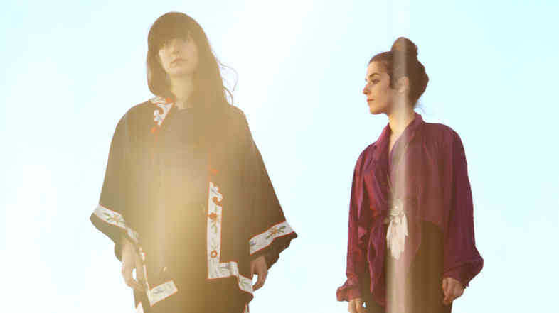 Sari and Romy Lightman of the bands Tasseomancy and Austra.