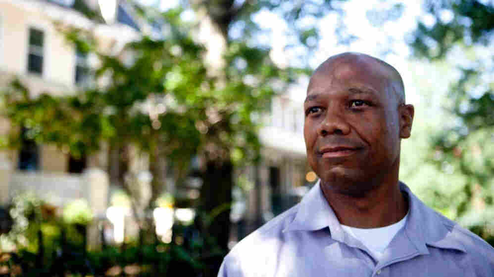 In 1985, Chris Turner was convicted of the murder of Catherine Fuller. After spending decades in prison, Turner is now out on parole; he maintains his innocence. He is shown here in his childhood neighborhood in Northeast Washington, D.C., about 100 yards away from what was Fuller's home.