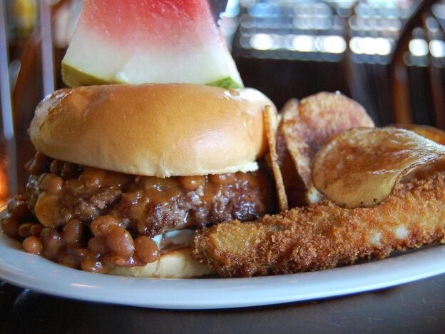 Got your burger ready?