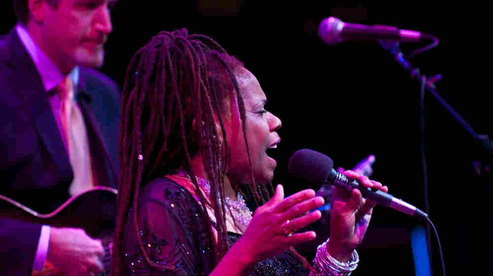 Catherine Russell performs at the Mary Lou Williams Festival.