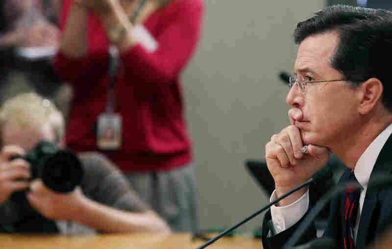 """""""We don't know what we're going to do with the ads ... because we don't have the PAC yet,"""" Colbert told FEC commissioners Thursday."""