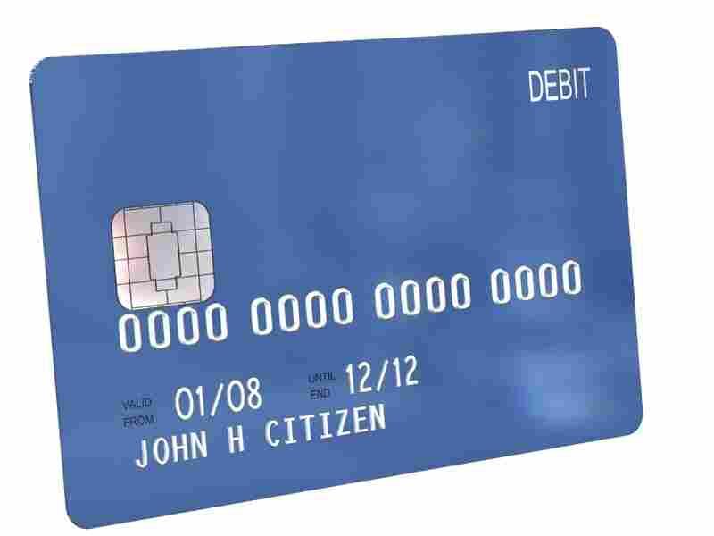 Debit card.