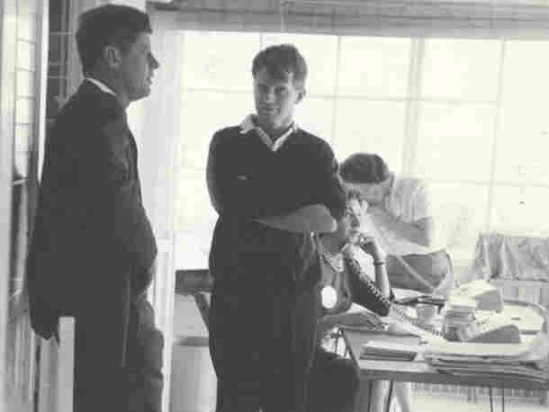 The Making of the President:The 1960s follows the presidential campaigns of '60, '64 and '68. Above, brothers John (left) and Robert Kennedy, shown together in 1960.