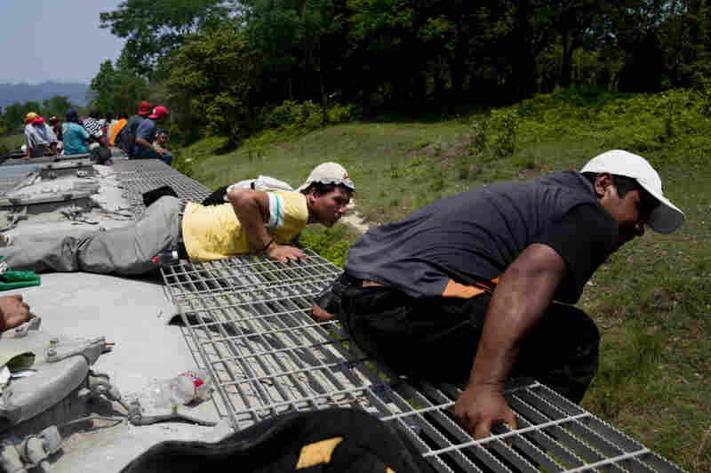 The trip for these migrants, mostly from Central America,  has become increasingly dangerous over the past several years as Mexico's drug war has raged. Kidnappings and killings of migrants have increased.