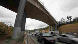 The Mulholland Drive bridge over I-405 in Los Angeles is coming down, and that's going to create problems in mid-July.