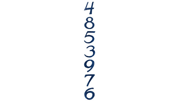 4 8 5 3 9 7 6
