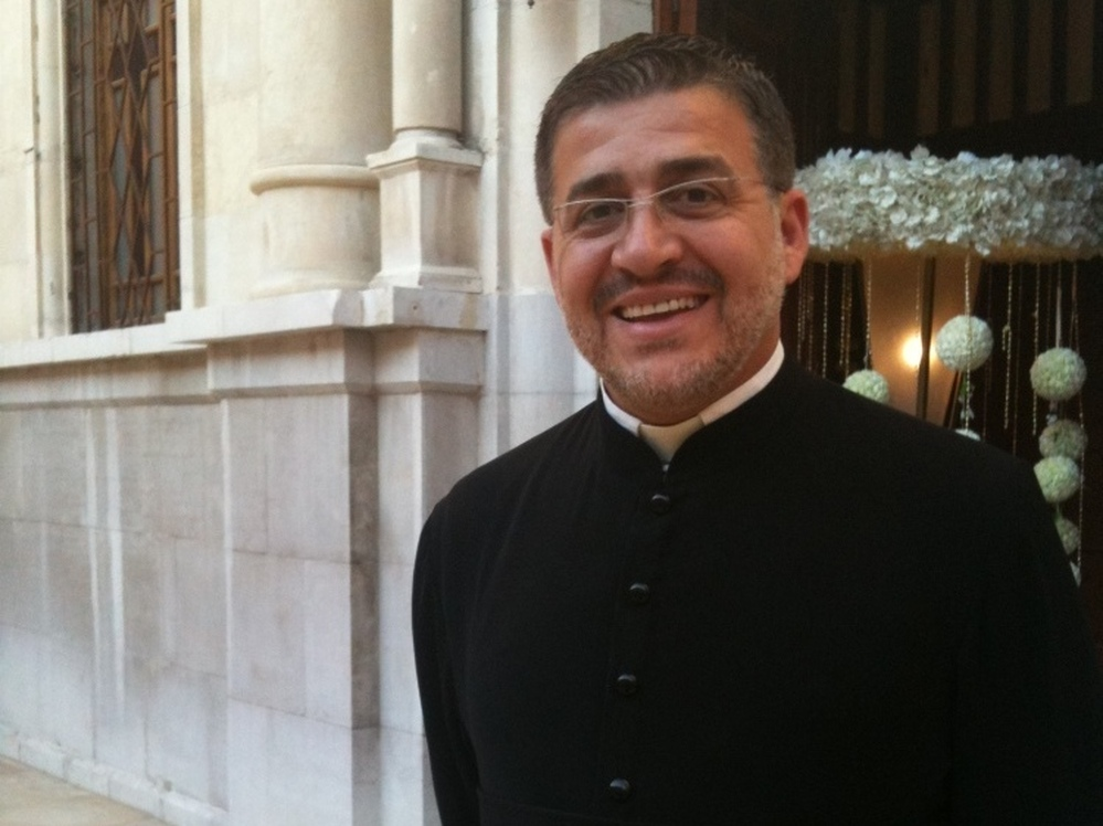 Rev. Fr.Gabriel Daoud is a Syriac Orthodox priest in Damascus. He says his parish is nervous about the growing protest movement and believes it's anti-Christian.